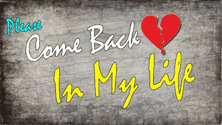 Bring my ex love back | Do i want my ex love back now by black magic